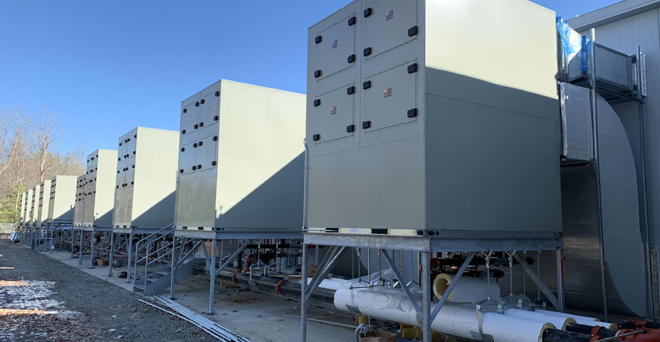 Design Assist / Design Build is available for complicated commercial HVAC systems